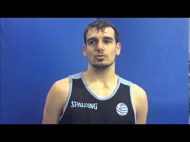 Video HellenicBF  | Εθνική Εφήβων (U19): Ο Δ. Σταμάτης για το Παγκόσμιο Πρωτάθλημα
