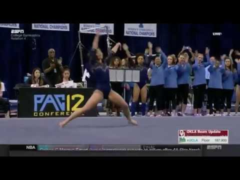 Katelyn Ohashi (UCLA) 2018 Floor vs Oklahoma 10.0