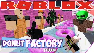 The FGN Crew Plays: ROBLOX - Donut Factory Tycoon (PC)