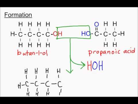 Sci 30 Alcohols Carboxylic Acids And Esters Part 3