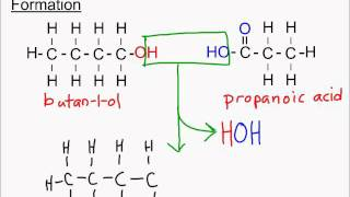 Sci 30 Alcohols, Carboxylic Acids and Esters: Part 3 Naming Esters