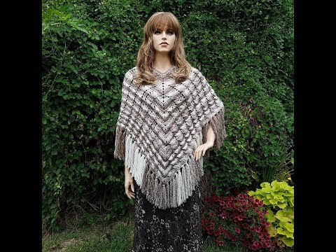 Learn How To Crochet The Cable'licious Poncho BAG-O-DAY CROCHET TUTORIAL #405