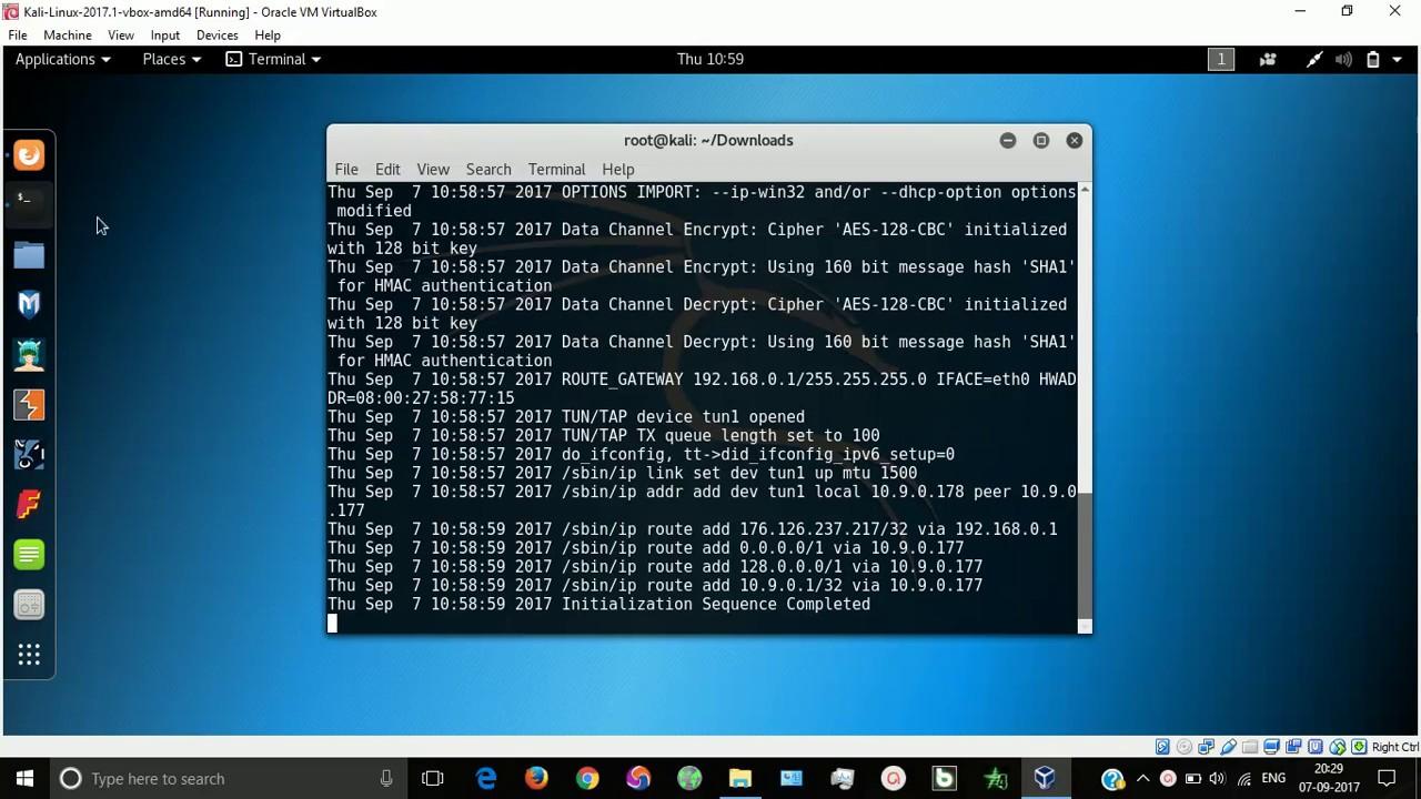 VPNBook | kali linux | ip spoofing | hide ip address | ipspoof kali |  vpnbook kali | ipspoof vpnbook