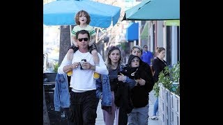 Gavin Rossdale takes his kids out for Sunday brunch in LA