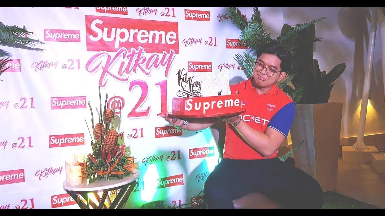 My 21st SUPREME Birthday Party! - YouTube
