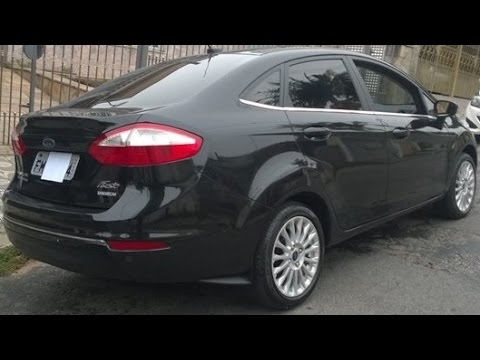 Ford Fiesta Sedan >> VENDIDO: Ford New FIESTA Sedan Titanium 2014 PowerShift - YouTube