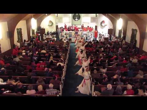 CHRISTMAS MELODY PRAISE DANCE, FIRST BAPTIST CHURCH RIVERHEAD