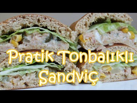 Ton Balıklı Sandviç | Atıştırmalık Tarifler | Bi'mutfak #37