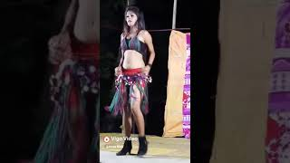 Indian desi sexy big boobs girl dance in stage