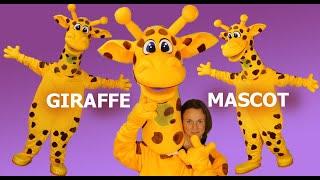 Giraffe Mascot Costume | Anastasia Mascot Custom