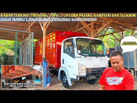 TRUCK TRENDING TOPIC 2 LANGSUNG PASANG KAROSERI!!