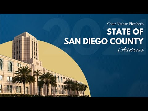 2021 State of San Diego County Address