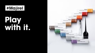 New Majirel haircolor: we've changed everything but the iconic formula! | L'Oréal Professionnel