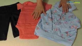 Комплект Carter's с кардиганом(Обзор комплекта Carter's для девочек 3в1. Бодик, штанишки и кардиган с капюшоном. Широкий ассортимент детской..., 2015-08-13T20:02:41.000Z)