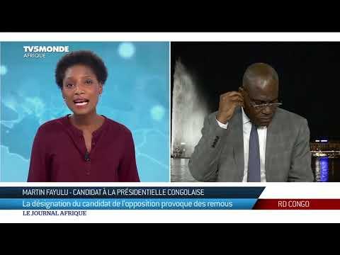 RDC: Interview de Martin Fayulu, depuis Genève, 24h après la signature de l'accord de l'opposition