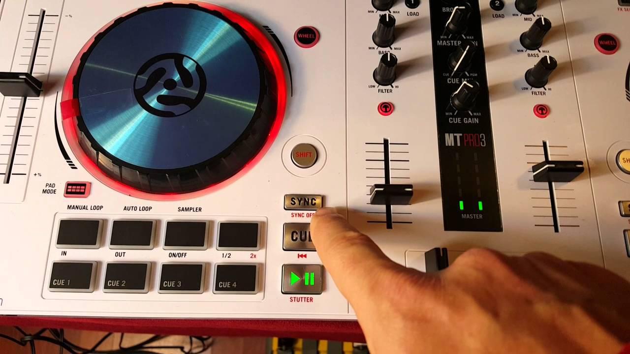 medium resolution of numark mixtrack pro 3 peavey dm115 speakers how to hook up dj system youtube