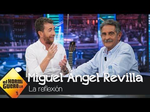 Miguel Ángel Revilla confiesa su mayor preocupación - El Hormiguero 3.0