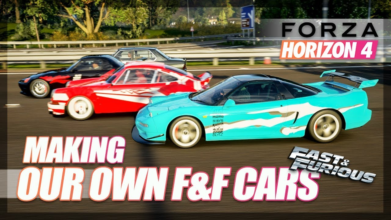 Forza Horizon 4 - Making Our Own Fast & Furious Cars! thumbnail