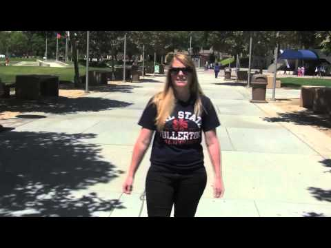 Campus Tour of Cal State Fullerton