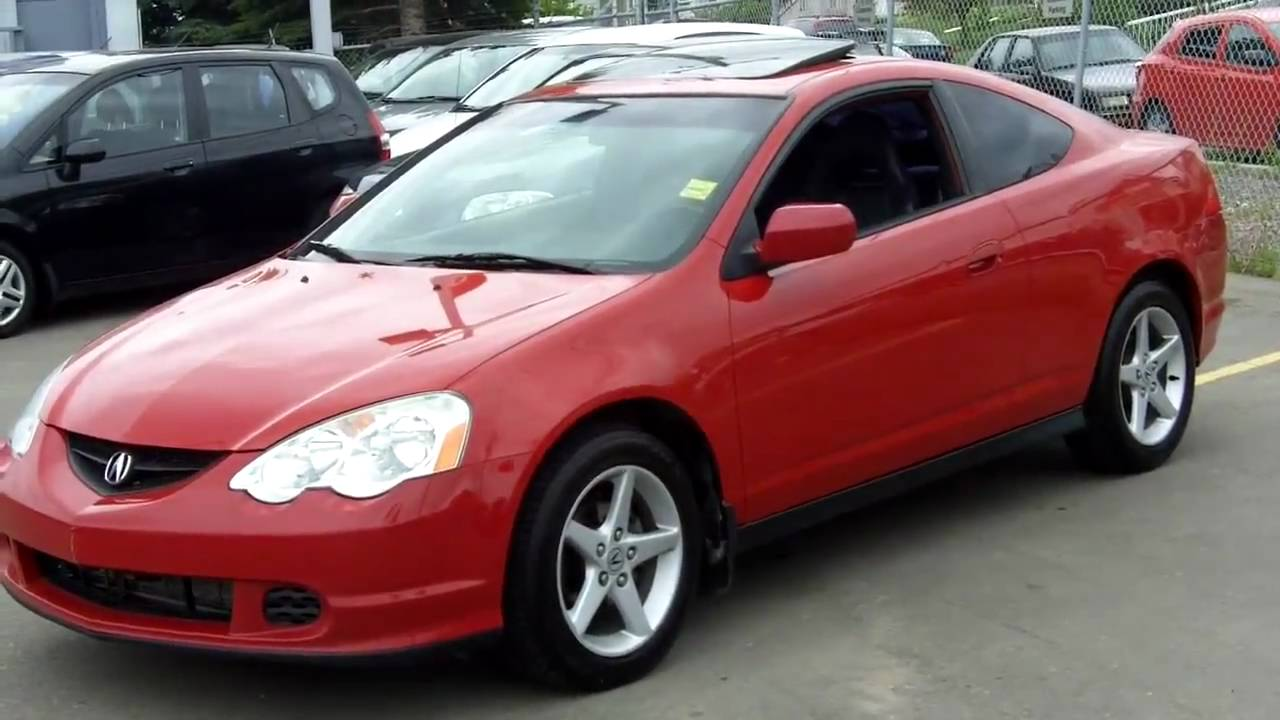 2002 Acura Rsx Red Fish Creek Nissan Youtube