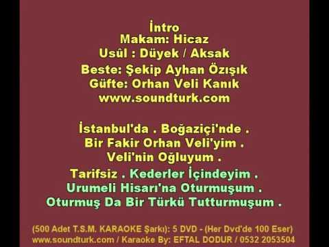 500 - T.S.M KARAOKE - Bir Garip Orhan Veli - Ahmet Özhan