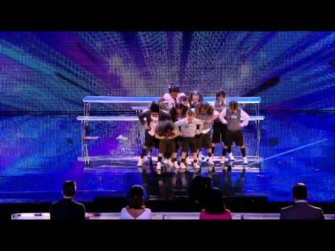 PRE SKOOL    Britains Got Talent   WEEK 5