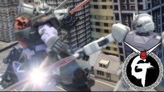 Gundam Stop Motion : urban warfare 模型動畫:城市戰爭