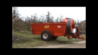 Sadowniczy rozrzutnik obornika Vaschieri L 35_PAK-ROL (organic fertilising, spandiletame, spreader)