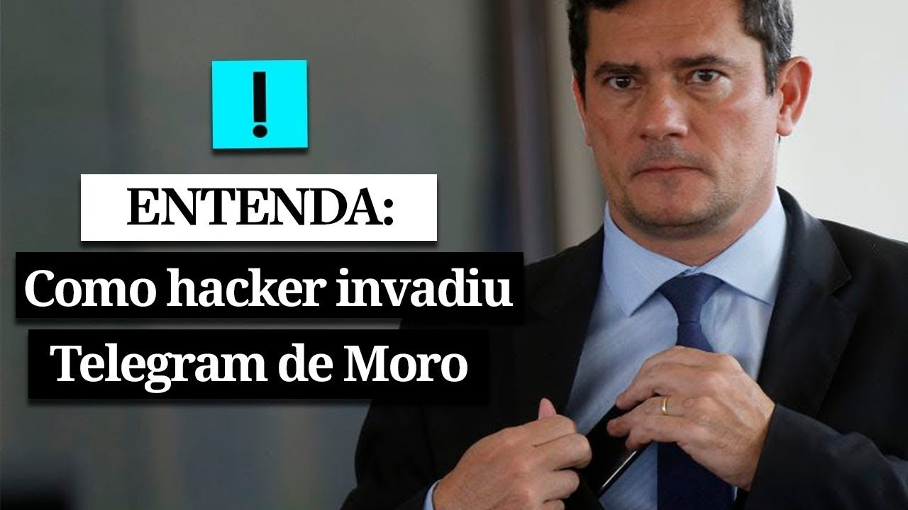 Resultado de imagem para ENTENDA: como o hacker invadiu o Telegram de Moro