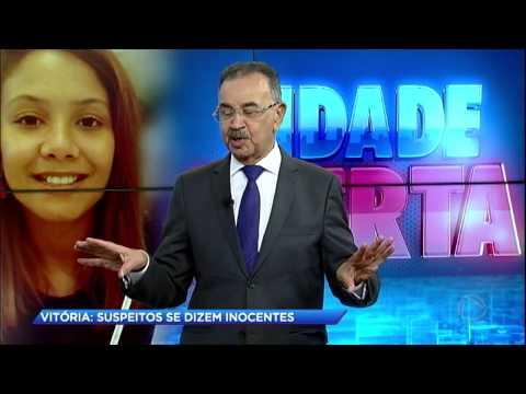 Cidade Alerta fala com casal apontado como suspeitos no caso Vitória