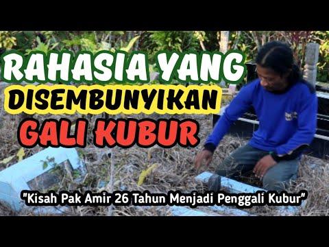 26 Tahun Jadi Penggali Kubur Dengan Gaji 700 Ribu,Inilah Kisah Pak Amir Yang Menguras Air Mata