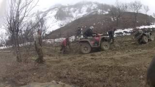 Iesire ATV ROMANIA Ramnicu Sarat 16.02.2013