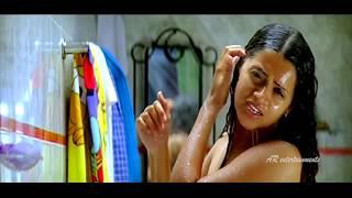 Bhavana hot bathing, dress changing and romance video
