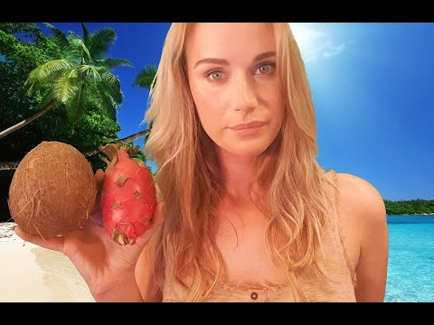 ASMR Fantasy Role Play Stranded on a deserted Island (soft spoken/whisper/blowing in your ear)