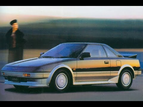 MR2 Television Advertisements from Model Year 1985 to 2003, covering AW11, SW20, and ZZW30.