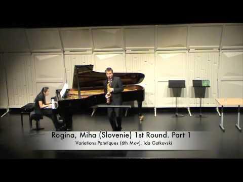 Rogina, Miha (Slovenie) 1st Round. Part 1.m4v