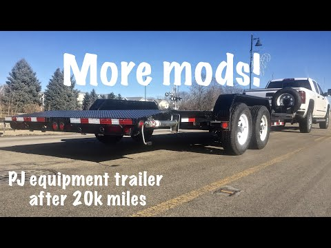 PJ Equipment Trailer Modifications, Repair And Review