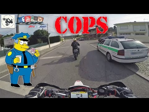 Thumbnail: The most EPIC and Slowest POLICE ESCAPE (Cops vs Bikes getaway)