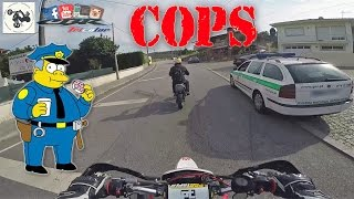 The most EPIC and Slowest POLICE ESCAPE (Cops vs Bikes getaway)