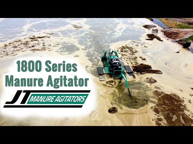 GPS Feature on a JT Manure Agitator Boat 1800 Series
