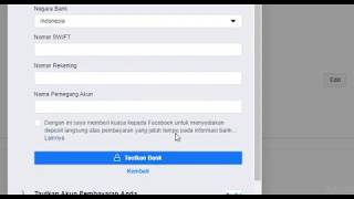 Download Cara Mengganti Rekening Bank Pada Akun Pembayaran Fanspage Terbaru