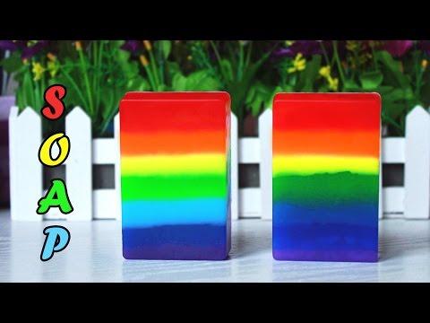 DIY: Мыло радуга ● Мастер-класс ● Rainbow soap