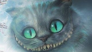 чеширский кот рисунок