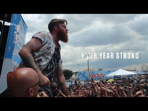 Four Year Strong - Live Vans Warped Tour 2014 Houston