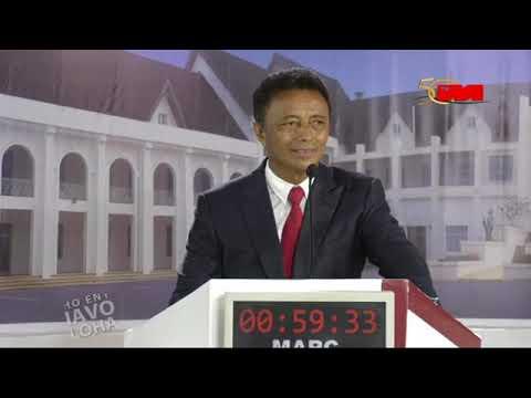 """MARC Ravalomanana Bouche """"B"""" face à Andry Rajoelina"""