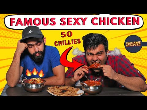 Spiciest Chicken Curry Eating Challenge | Challenge Accepted #32