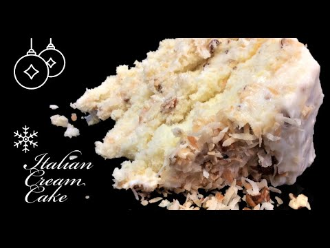 How We Make Italian Cream Cake , Best Southern Cake Mix Classic Recipes