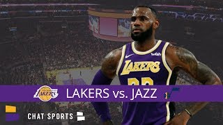 Lakers vs. Jazz Live Streaming Scoreboard & Live Chat | Lakers' 2019 Home Opener