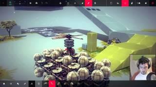 LIGHTWEIGHT TANK WITH SUICIDAL BALLOON MODULE  - Besiege Alpha Sandbox Random Creation #4