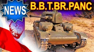 Polski premium B.B.T.Br.Panc - dostaje buffa - World of Tanks